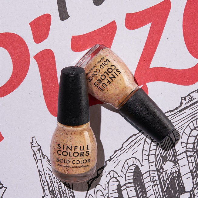 Pizza-inspired SinfulColors Sweet and Salty Nail Polish