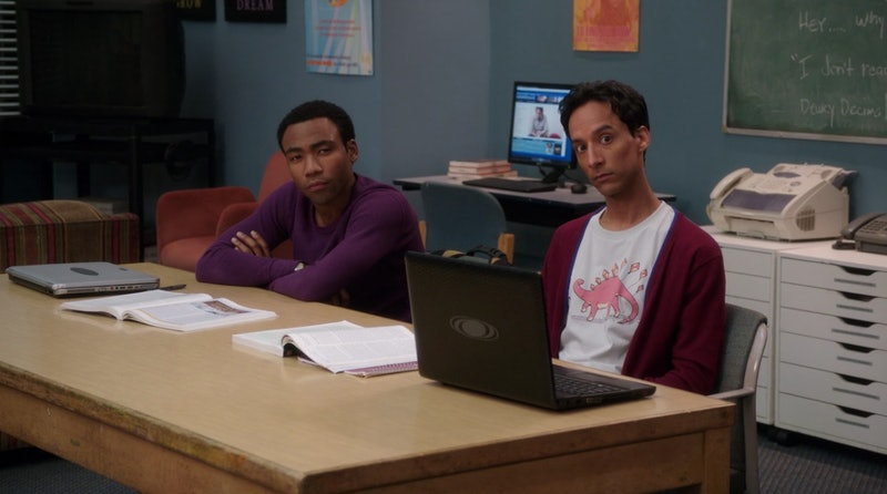 Troy and Abed 'Community', donald Glover movie idea