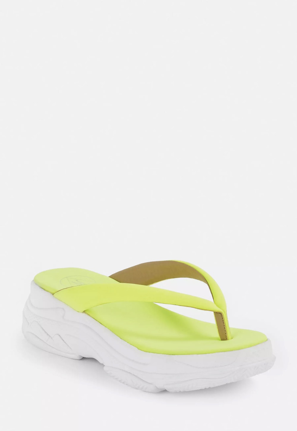 Chunky Sports Sole Thong Sandals