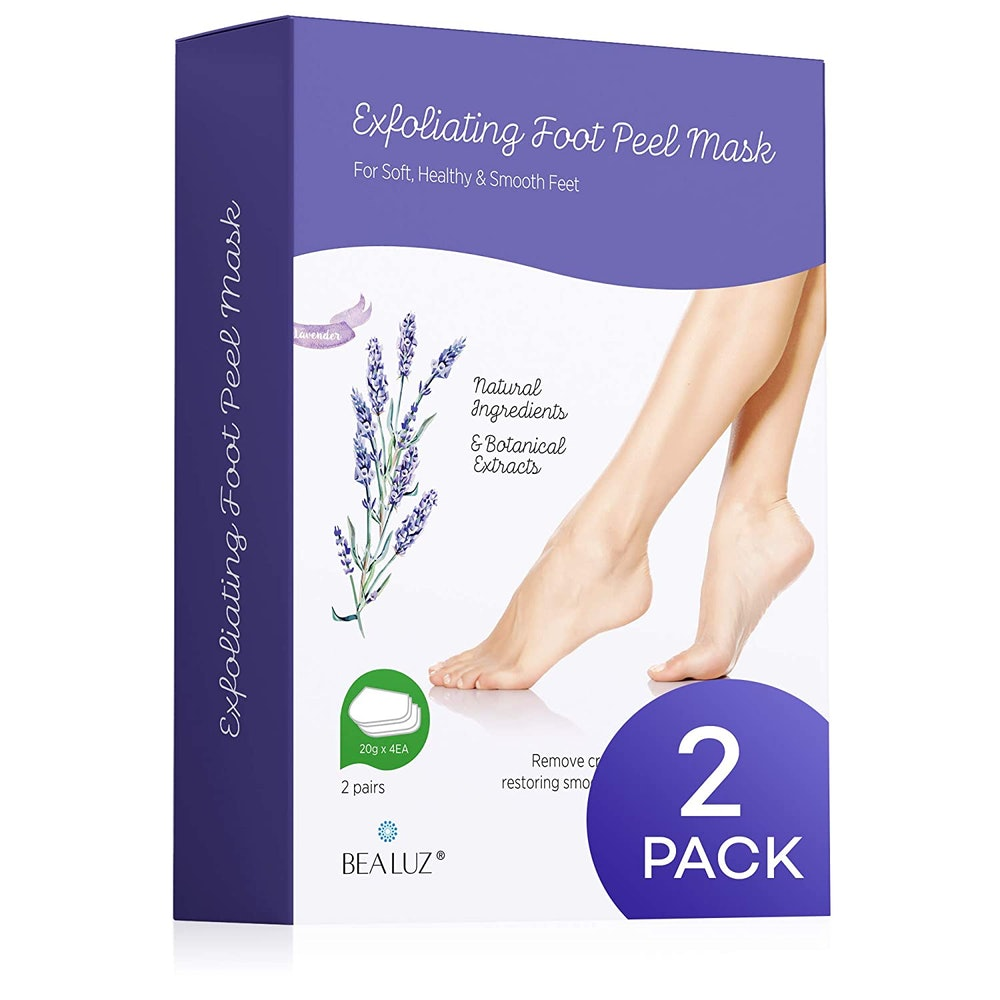 BEALUZ Foot Peel Masks (2-Pack)