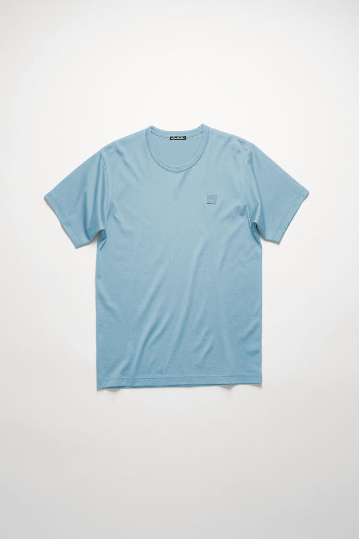 Nash Face t-shirt mineral blue