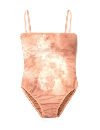 Camp One Piece Swimsuit in Blush