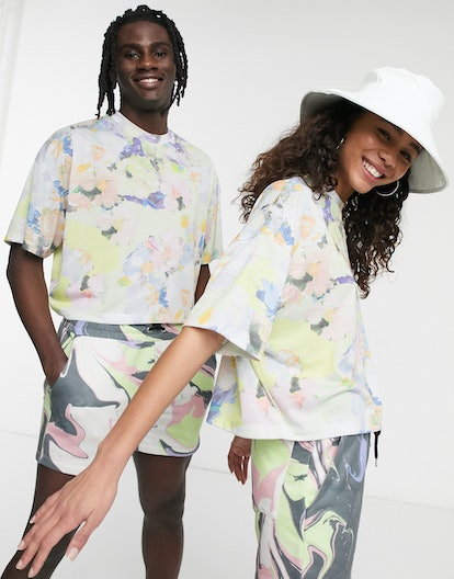 ASOS x GLAAD Unisex Two-Piece Cropped T-shirt