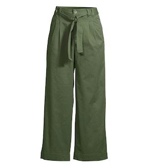 Self Belt Soft Pants