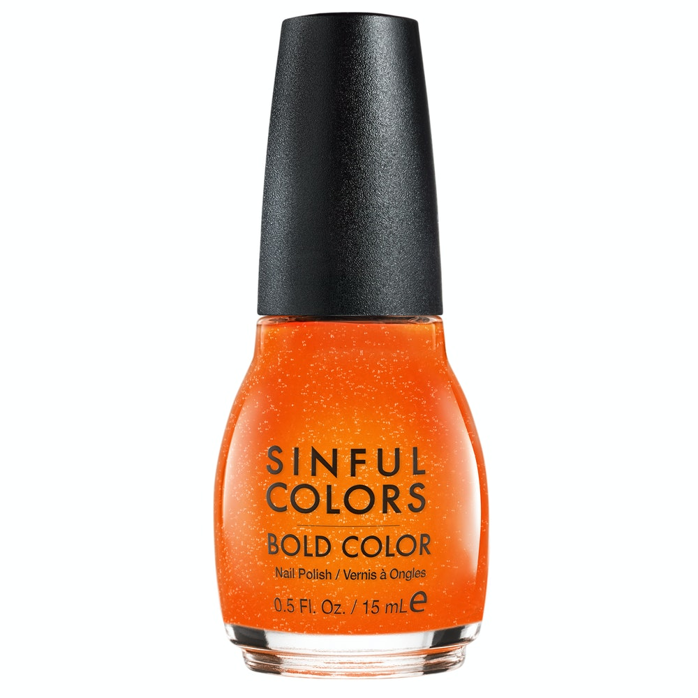 SinfulColors Sweet and Salty Nail Polish - Cheese Puff