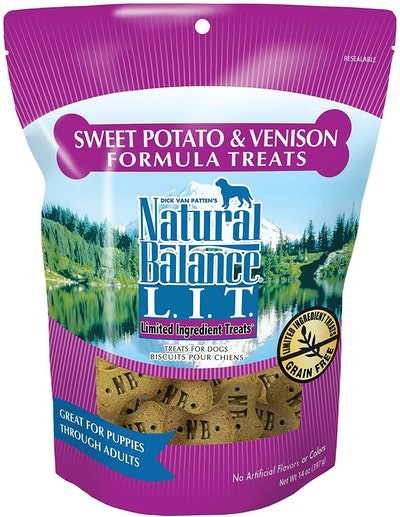 Natural Balance L.I.T. Limited Ingredient Treats (14 Ounces)