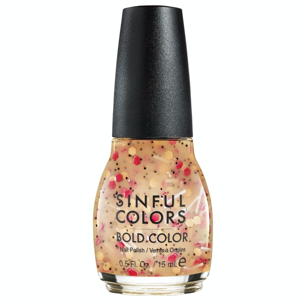 SinfulColors Sweet and Salty Nail Polish - Pizza Party