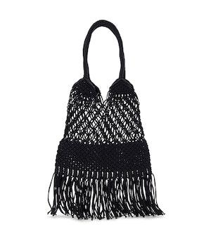 Macrame Hobo Bag