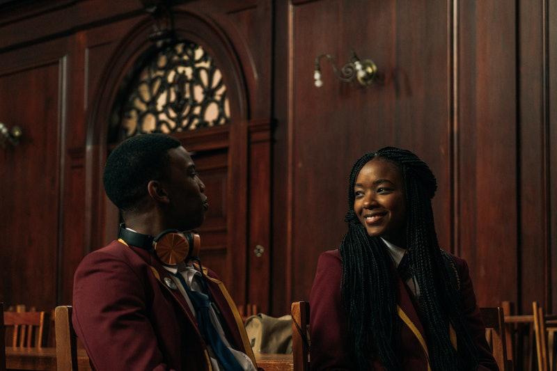 Ama Qamata as Puleng Khumalo & Thabang Molaba as Karabo 'KB' Molapo in 'Blood & Water'