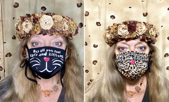 Carole Baskin has face masks for sale.