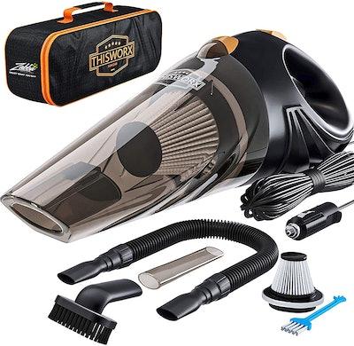 ThisWorx Portable Car Vacuum