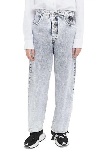 Snow Denim High-Waisted Jeans