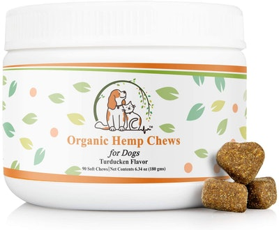 Valerio Organic Dog Hemp Chews