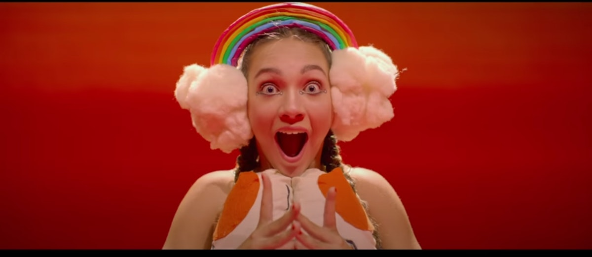 Maddie Ziegler appears in Sia's 'Together' video.