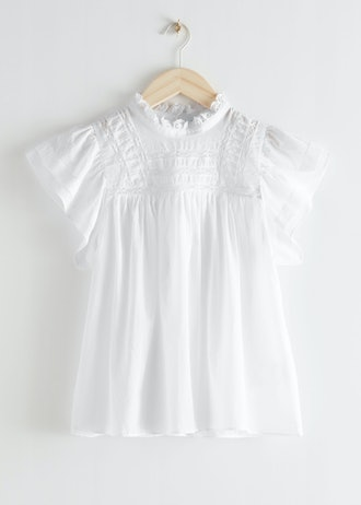 Frilled Lace Top