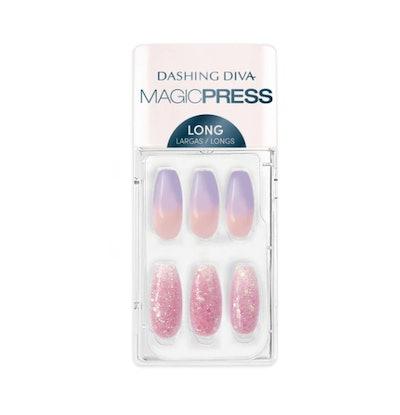 Lilac Ice Magic Press Press On