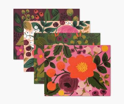 Vintage Blossoms Assorted Card Set