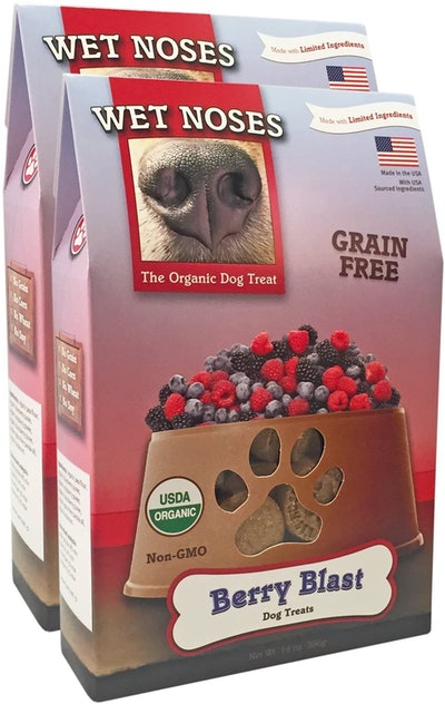Wet Noses All-Natural Dog Treats (2-Pack)
