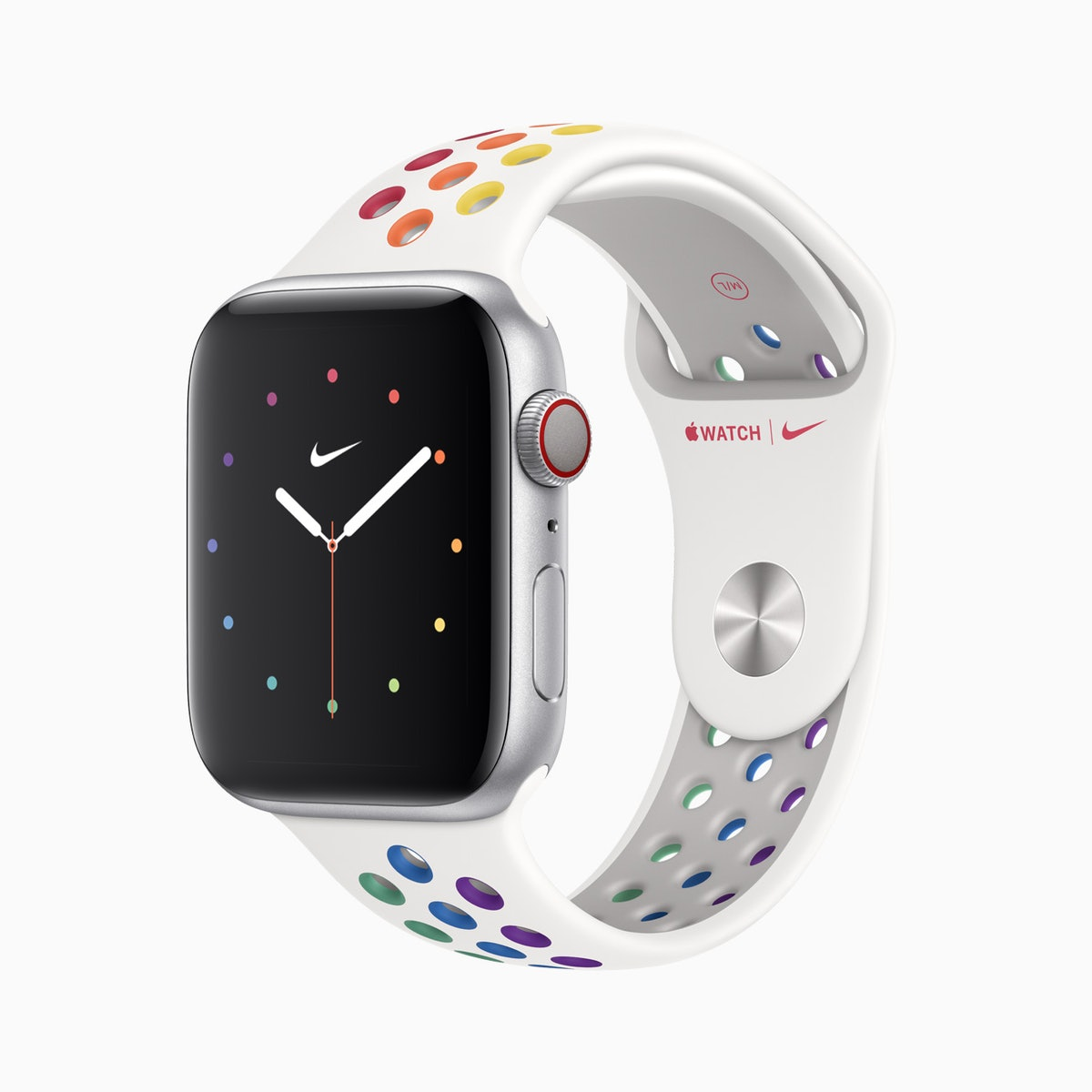 You can get the Pride 2020 Apple Watch faces on your phone or your watch.