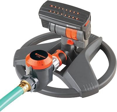 Gardena ZoomMaxx Sprinkler With Water Timer