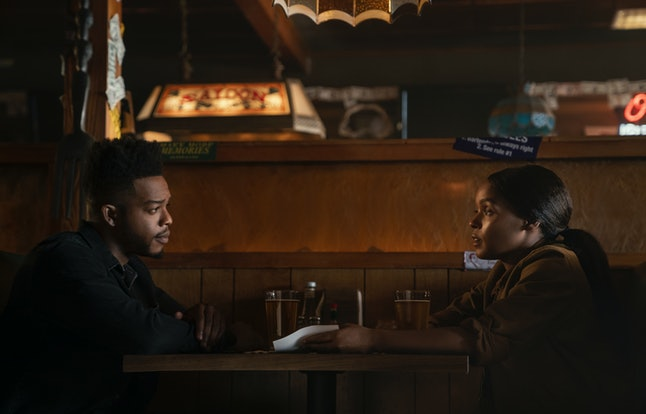 Walter Cruz (Stephan James) and Alex (Janelle Monáe) in 'Homecoming' Season 2