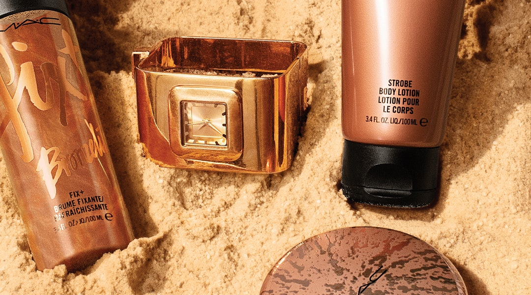 MAC Cosmetics' new bronzer collection has a variety of products to help you get a summer glow.