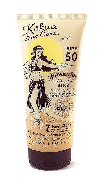 Kokua Sun Care Hawaiian Natural Zinc Sunscreen SPF 50