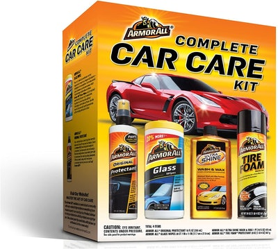 Armor All Car Wash and Cleaner Kit (4 Pieces)