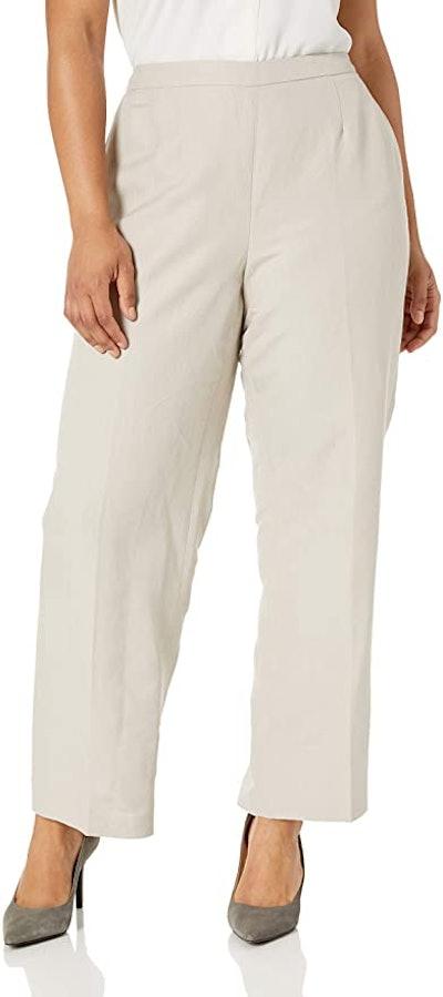 Kasper Women's Linen Pant