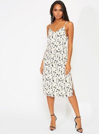Larsen Midi Dress Animal Print