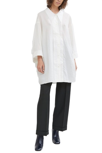 Silk Maxi Shirt