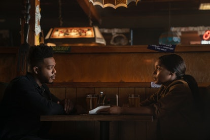 Water (Stephan James) and Alex (Janelle Monáe) in 'Homecoming' Season 2