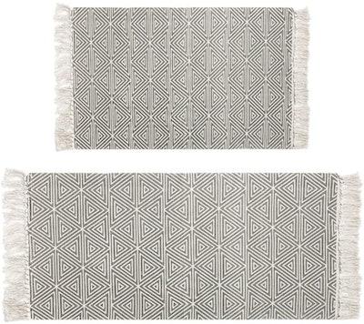 HEBE Cotton Area Rug Set (2-Piece)