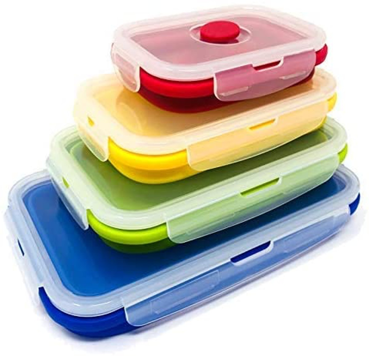 SuperDee Corp Silicone Food Storage Containers