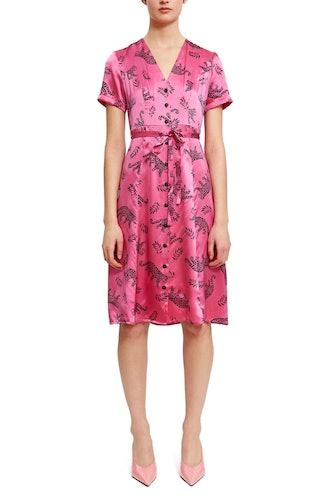 Rosemary Short Sleeve Button Down Dress