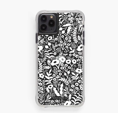 Clear Tapestry Lace iPhone Case
