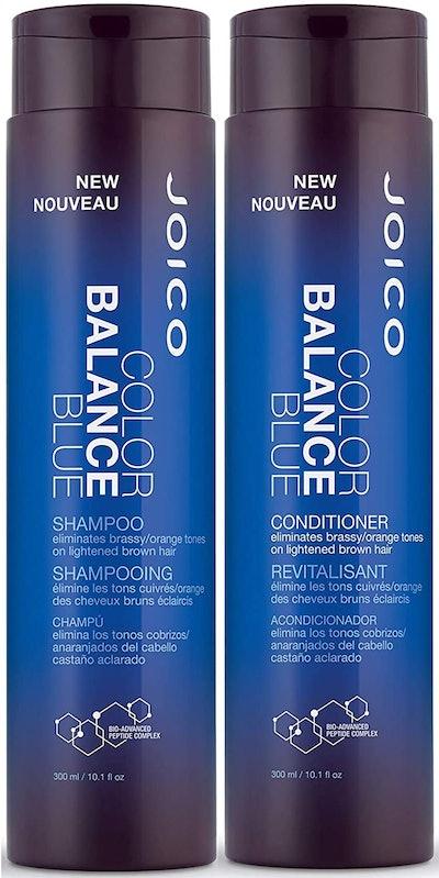 Joico Color Balance Blue Shampoo and Conditioner