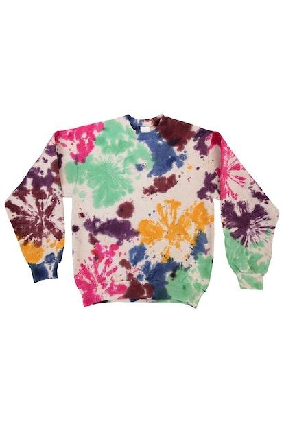 Pierced Crewneck Sweatshirt