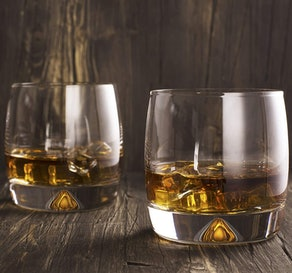 Mofado Crystal Whiskey Glasses (Set Of 2)
