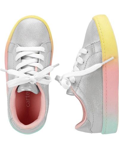 Rainbow Platform Casual Sneakers