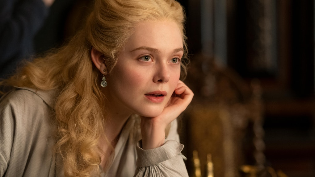 Elle Fanning in Hulu's 'The Great'