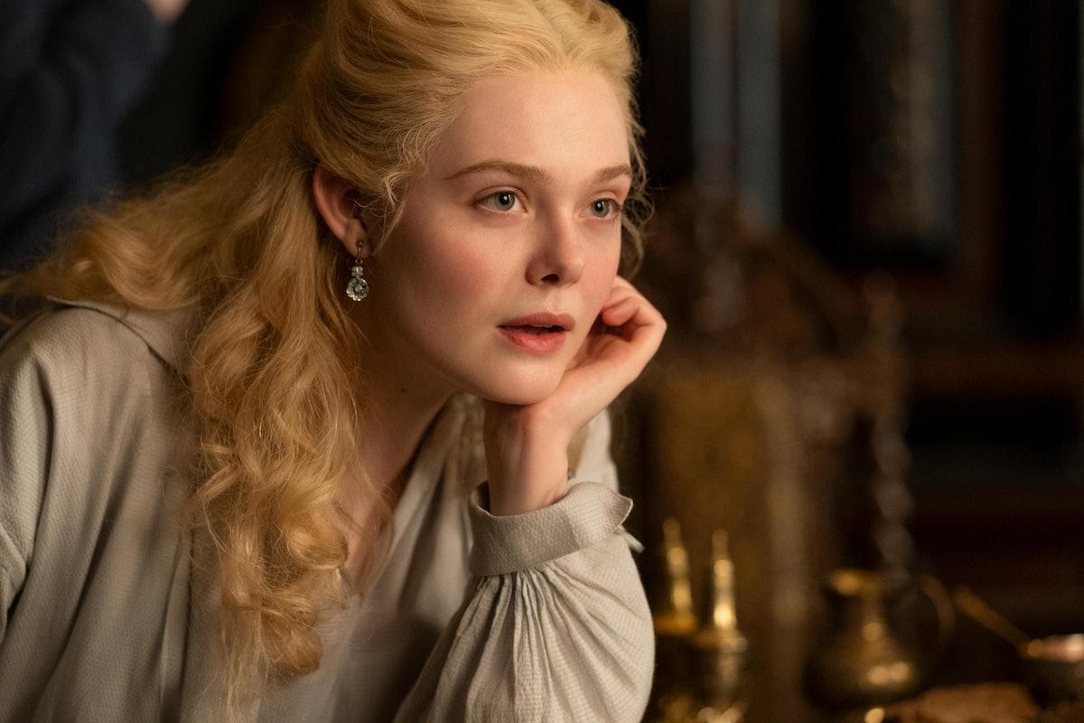 Elle Fanning in Hulu's 'The Great'