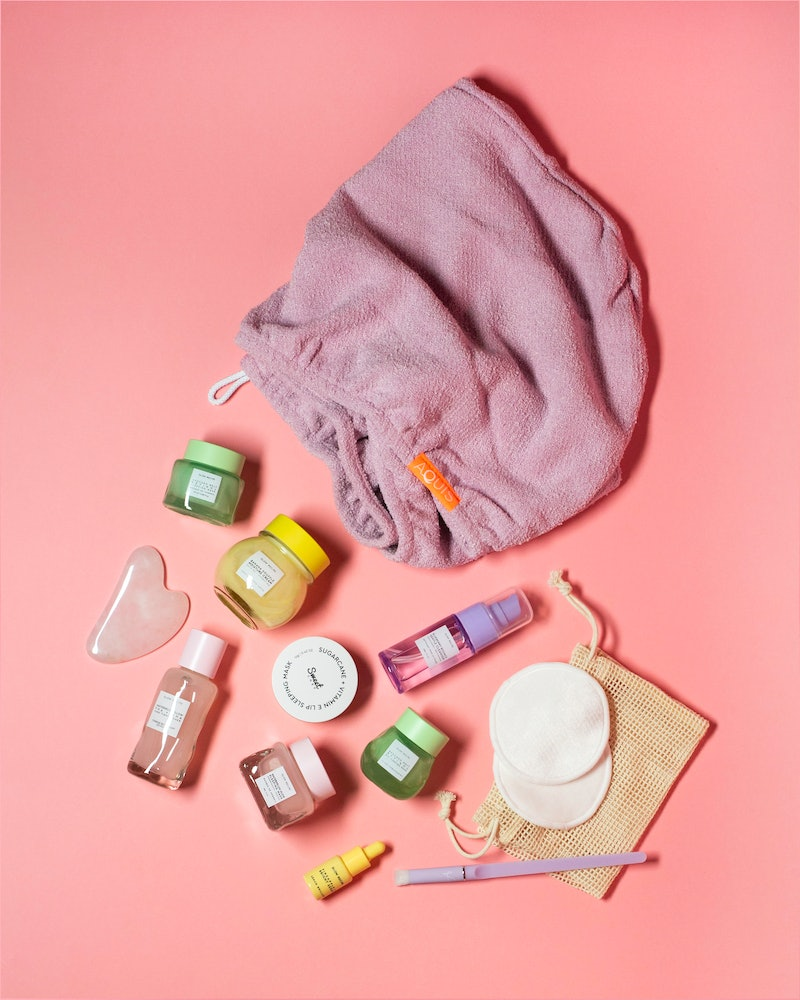 Glow Recipe's at-home spa kit gives you everything you need for a DIY facial.