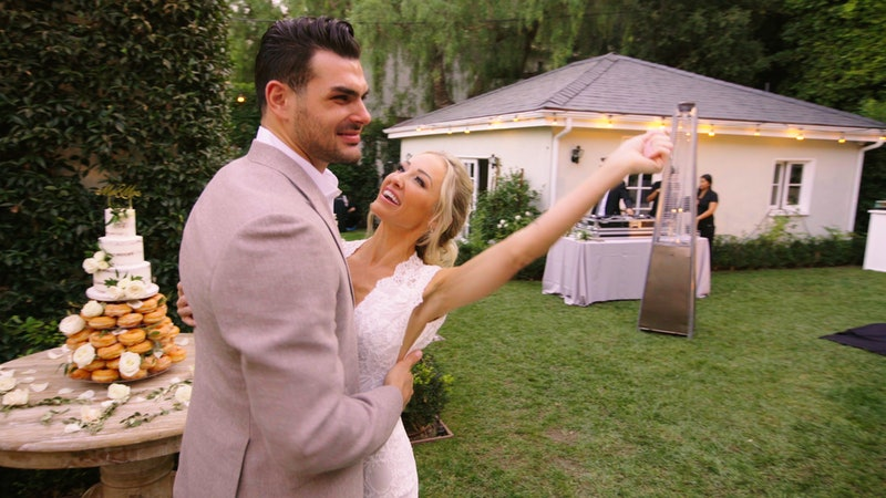 Mary and Romain get married in Selling Sunset Season 2.