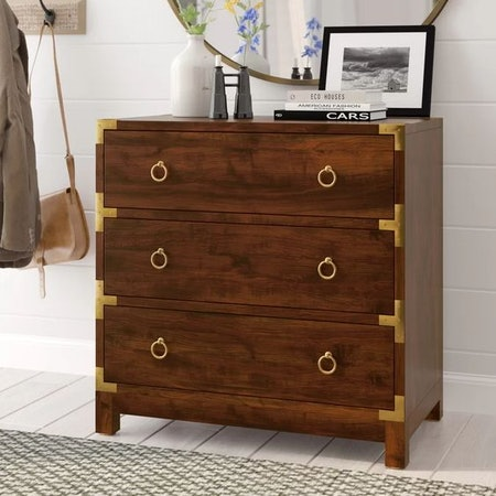 Jonathan 3 Drawer Accent Chest