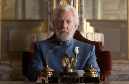 President Snow in The Hunger Games