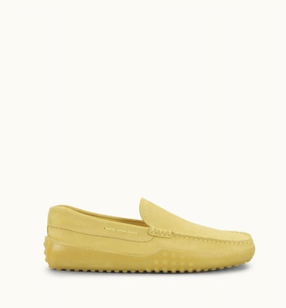 Gommino Slipper In Suede