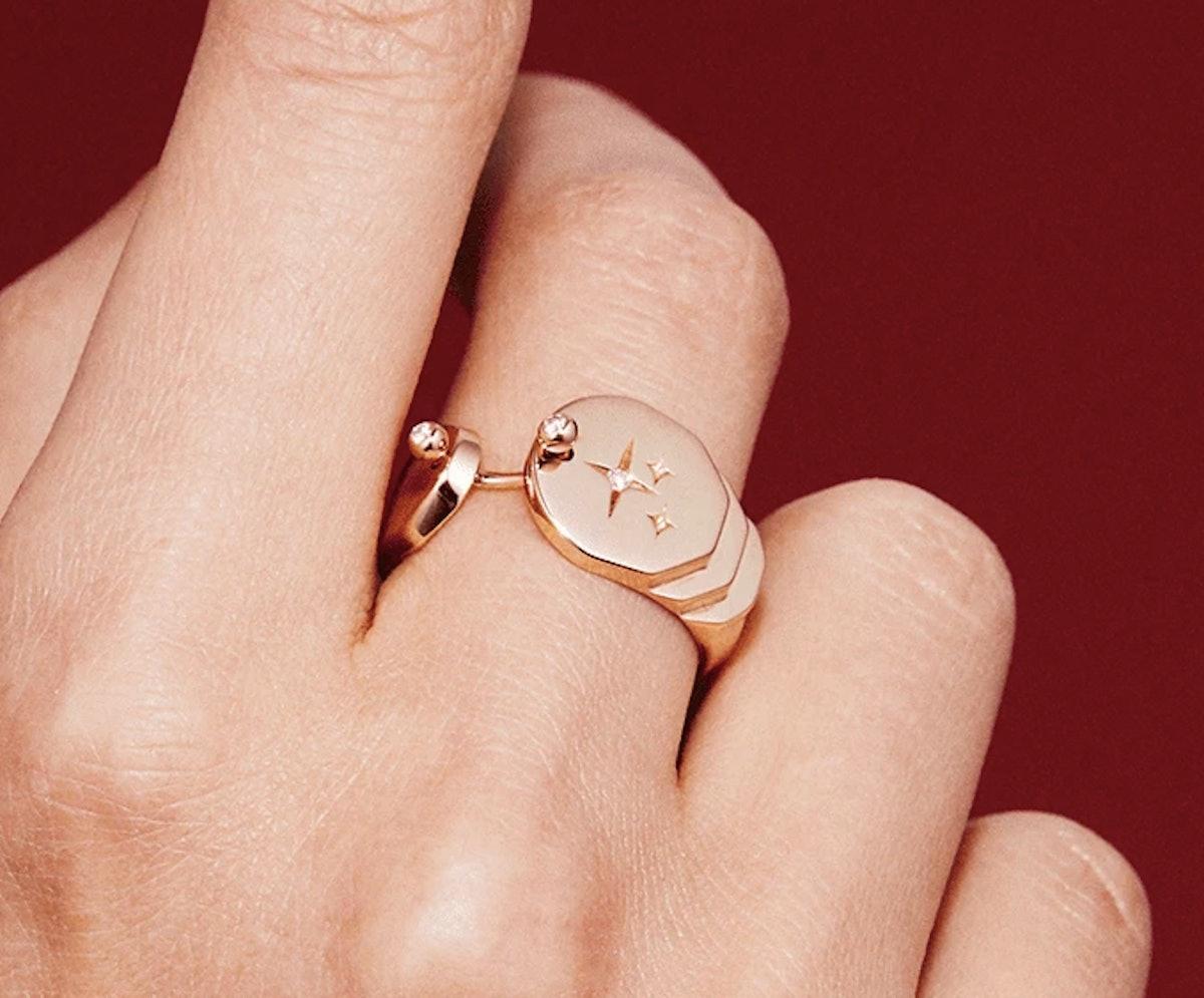Sparkles Gold Ring