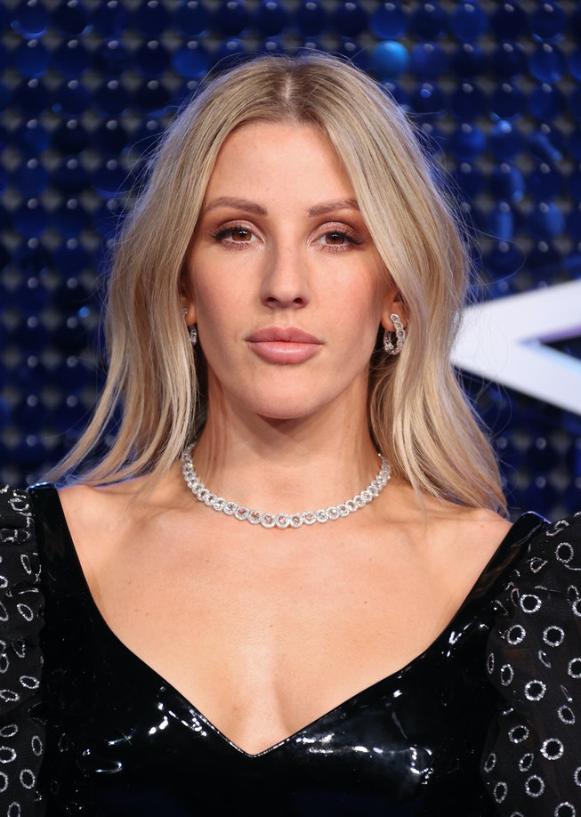Ellie Goulding attends The Global Awards 2020 at Eventim Apollo, Hammersmith on March 05, 2020 in Lo...