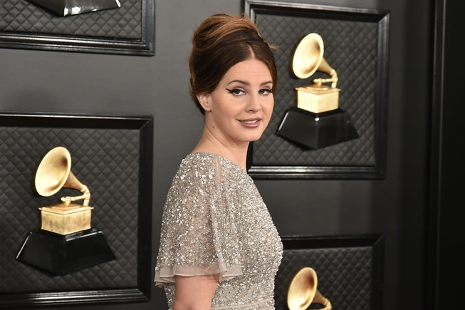 Lana Del Rey attends the 62nd Annual Grammy Awards at Staples Center on January 26, 2020 in Los Angeles, CA.
